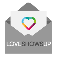 Love Shows Up Logo